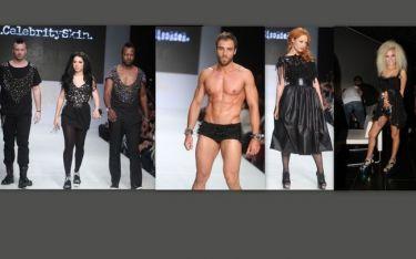 Επώνυμοι σε ρόλο μοντέλου στην επίδειξη των «Celebrity Skin»