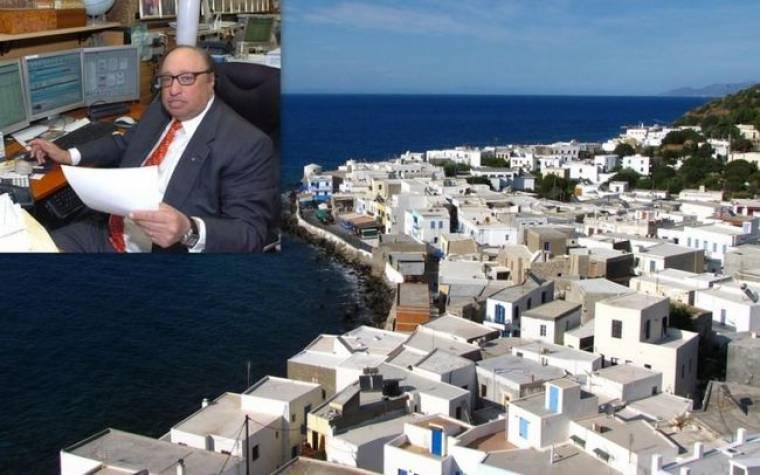 Τζον Κατσιματίδης: Θα μετατρέψει τη Νίσυρο σε κοσμοπολίτικο νησί