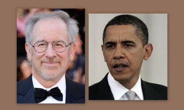 Ο Σπίλμπεργκ στηρίζει οικονομικά τον Ομπάμα