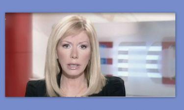 Η επιστροφή της Λίζας Δουκακάρου στο δελτίο ειδήσεων του Mega μετά το θάνατο του συζύγου της!