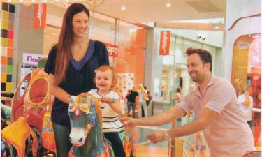 Γιώργος Λιανός-Ανθή Ανδροτσάκη: Χαρούμενες οικογενειακές στιγμές με την κορούλα τους