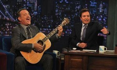 Tom Hanks: Ποιητικός… μονόλογος στο σόου του Jimmy Fallon