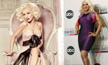 Christina Aguilera: Όταν το photoshop χάνει την... πραγματικότητα!