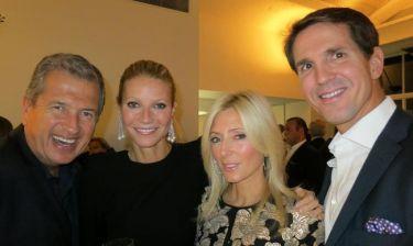 Παύλος-Μαρί Σαντάλ: Στο πάρτι γενεθλίων της φίλη τους Gwyneth Paltrow! (φωτό)