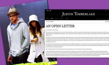 Η συγνώμη του Justin Timberlake για το βίντεο της ντροπής!