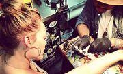 Ακόμη ένα τατουάζ για την…