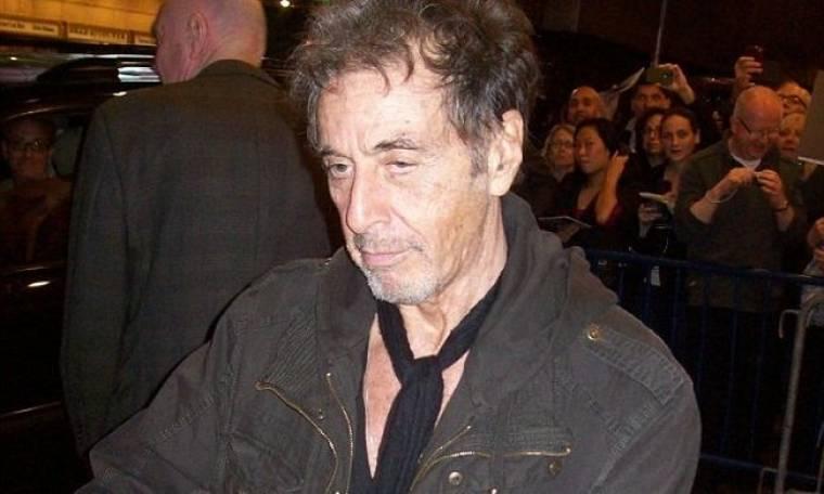 Al Pacino: Έχει κουραστεί και φαίνεται!