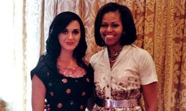 Katy Perry: Γιόρτασε τα γενέθλια της με την… Michelle Obama