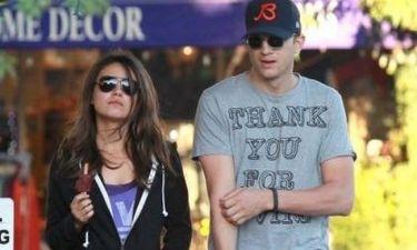 Ashton Kutcher – Mila Kunis: Από το γυμναστήριο για παγωτό