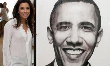 Eva Longoria: Συνεχίζει το… τρέξιμο για τον Barack Obama