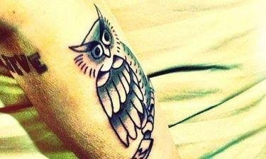Έκανε ακόμη και τατουάζ με κουκουβάγια