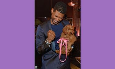 Usher: Έδωσε 12.000 δολάρια για να αποκτήσει το συγκεκριμένο σκυλάκι