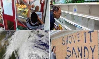 Τυφώνας Σάντι: Παρέλυσαν οι βορειοανατολικές ΗΠΑ