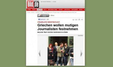 Bild για τη σύλληψη Βαξεβάνη: «Οι Έλληνες συνέλαβαν έναν γενναίο δημοσιογράφο»