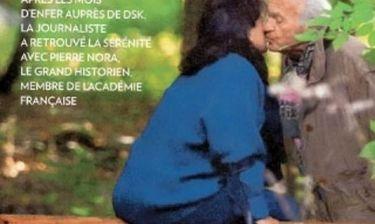 Η πρώην σύζυγος τους Στρος Καν ερωτεύτηκε! Δείτε τον… ώριμο σύντροφό της
