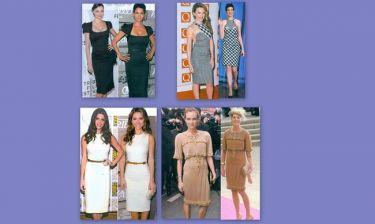 Όταν το ίδιο φόρεμα το φοράνε δυο διαφορετικές γυναίκες