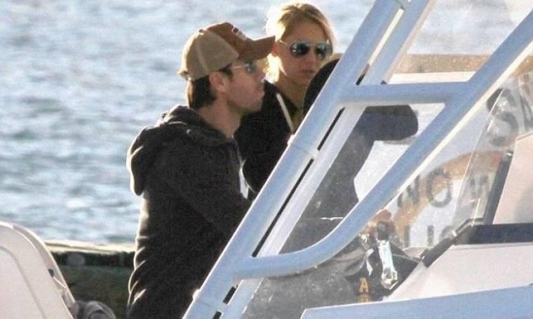 Enrique Iglesias – Anna Kournikova: Ρομαντική βόλτα με το σκάφος