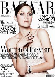 Marion Cotillard: Στο εξώφυλλο του Harper's Bazaar