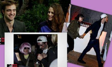 Kristen Stewart – Robert Pattinson: Η χαλαρή πρώτη κοινή συνέντευξη και το... ατυχές μασκάρεμα