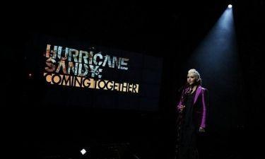 Διάσημοι σταρ σε τηλεμαραθώνιο για τα θύματα του τυφώνα Sandy