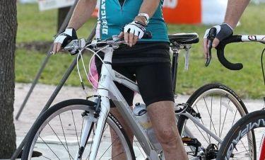 Στα 66 της χρόνια πήρε μέρος σε αγώνες ποδηλασίας!