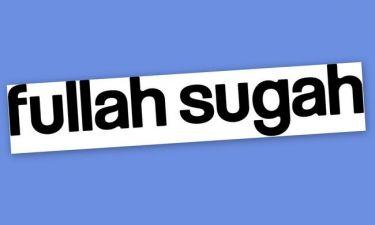To Fullah Sugah Fashion Bazaar παρατείνεται!