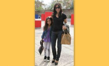 Βάσω Γουλιελμάκη: Στο θέατρο με την κόρη της
