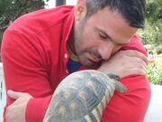 Αγκαλιά με την χελώνα φωτογραφήθηκε ο…