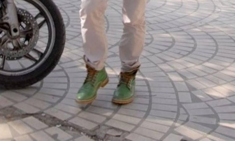 Πράσινα παπούτσια για τον…