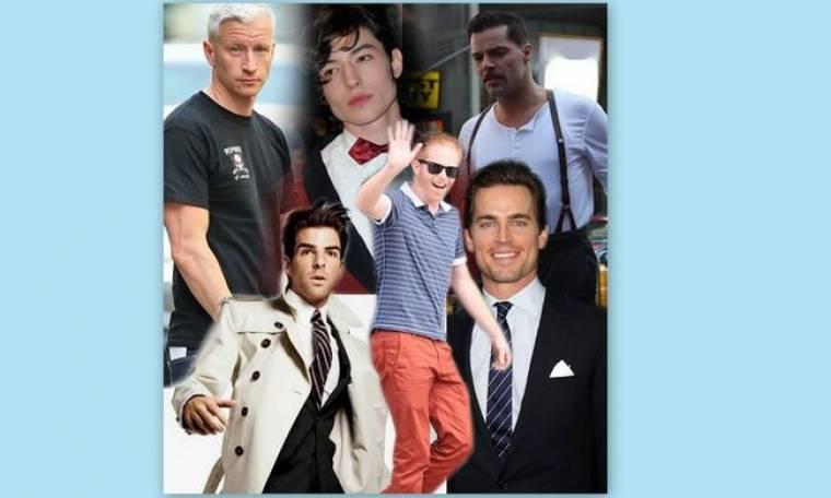 Hot pink: Διάσημοι gay άντρες που οι γυναίκες θέλουν να ξελογιάσουν