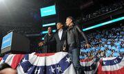 Jay Z και Bruce Springsteen στο πλευρό του Barack Obama
