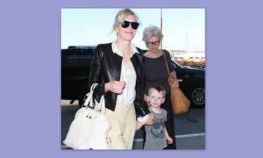 Cate Blanchett: Με τον μικρό της fashionista