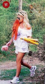Η αγρότισσα Ελένη Μενεγάκη! (φωτό)