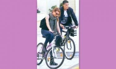 Στεφανίδου – Ευαγγελάτος: «Κολλημένοι» με το ποδήλατο!