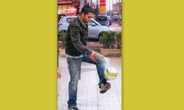 Χρήστος Μάστορας: Mini προπόνηση on the road