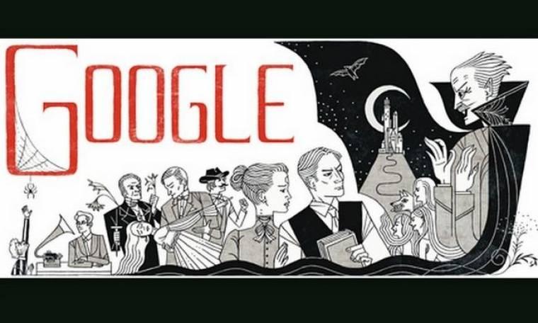 Google: Ημέρα του Bram Stoker