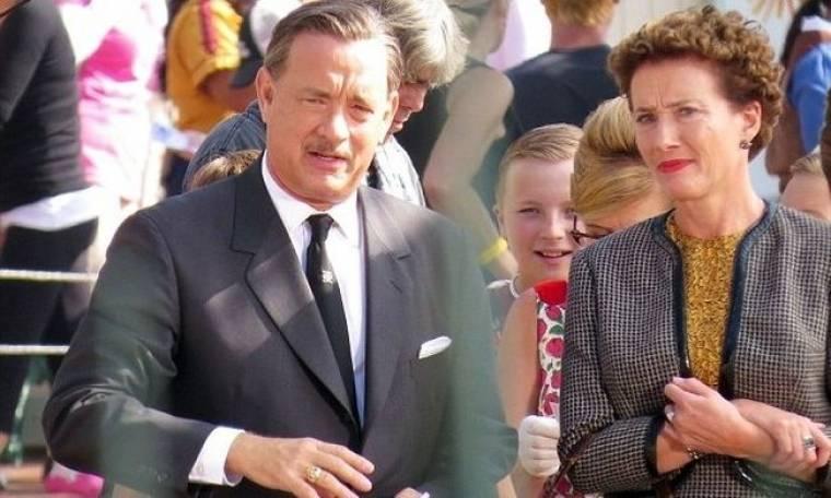 Η πρώτη εικόνα του Tom Hanks στο ρόλο του Walt Disney