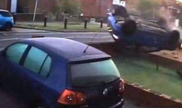Βίντεο: Μεθυσμένος οδηγός σε απίστευτη «εκτόξευση»