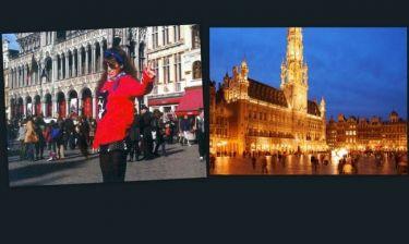 Κατερίνα Στικούδη: Φωτογραφίες από το ταξίδι της στις Βρυξέλλες
