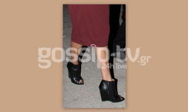 Τα εκκεντρικά παπούτσια της…