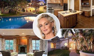 Sharon Stone: Πουλάει το σπίτι της στο Μπέβερλι Χιλς
