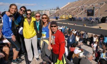 Οι Έλληνες celebrities στήριξαν τον Μαραθώνιο