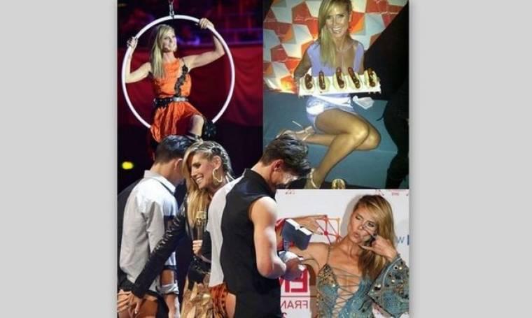 Οι έξι συν δύο αλλαγές της Heidi Klum στα MTV EMA's. Chic ή Kitsch;