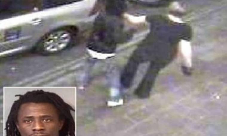 Εικόνες-σοκ: Έκανε ότι βοηθούσε μεθυσμένη γυναίκα και τη βίασε