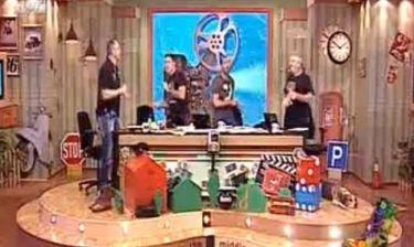 Οι «Ράδιο Αρβύλα» χόρεψαν το νέο τους σουξέ,«ο Βαγγέλης τσιου»!