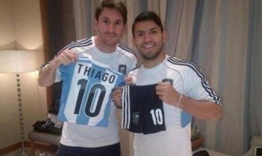 Ο γιος του Μέσι έχει ήδη φανέλα της Αργεντινής