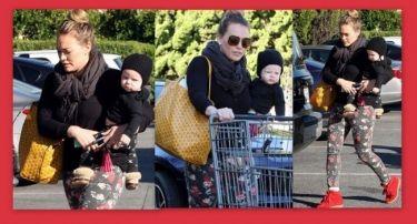 Hilary Duff: Για ψώνια με το γιο της!