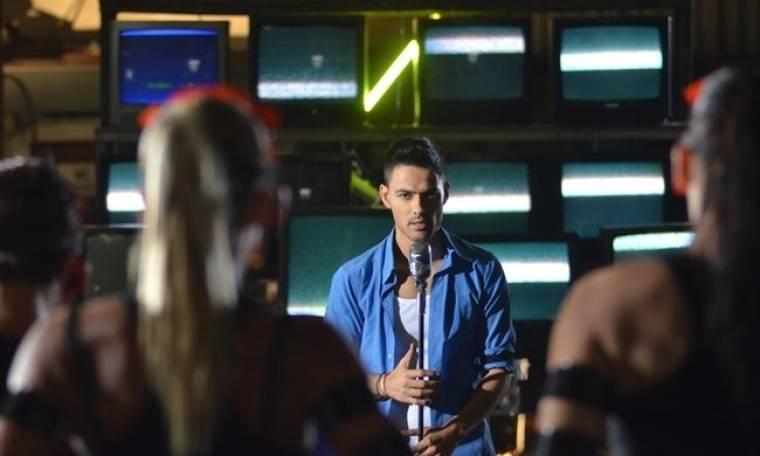 Backstage από το video clip του Μάνου Krass