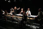 Πρεμιέρα για τη θεατρική παράσταση «Έγκλημα στα παρασκήνια»