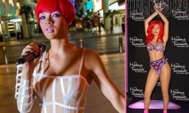 Rihanna: Απέκτησε όχι ένα, αλλά δύο κέρινα ομοιώματα